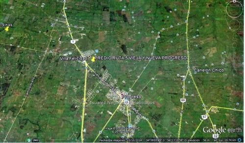 j.s. gran terreno en cruce de rutas