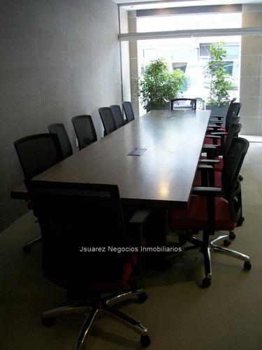 j.s. oficina nueva en cordón con renta