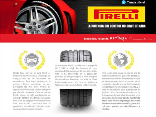 juego 4 cubiertas pirelli 175/70 r14 chrono