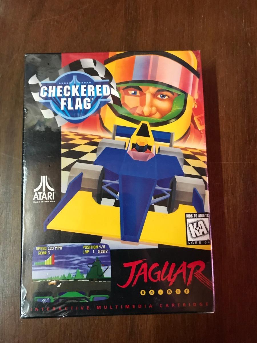 Juego Atari Jaguar Checkered Flag 1 500 00 En Mercado Libre