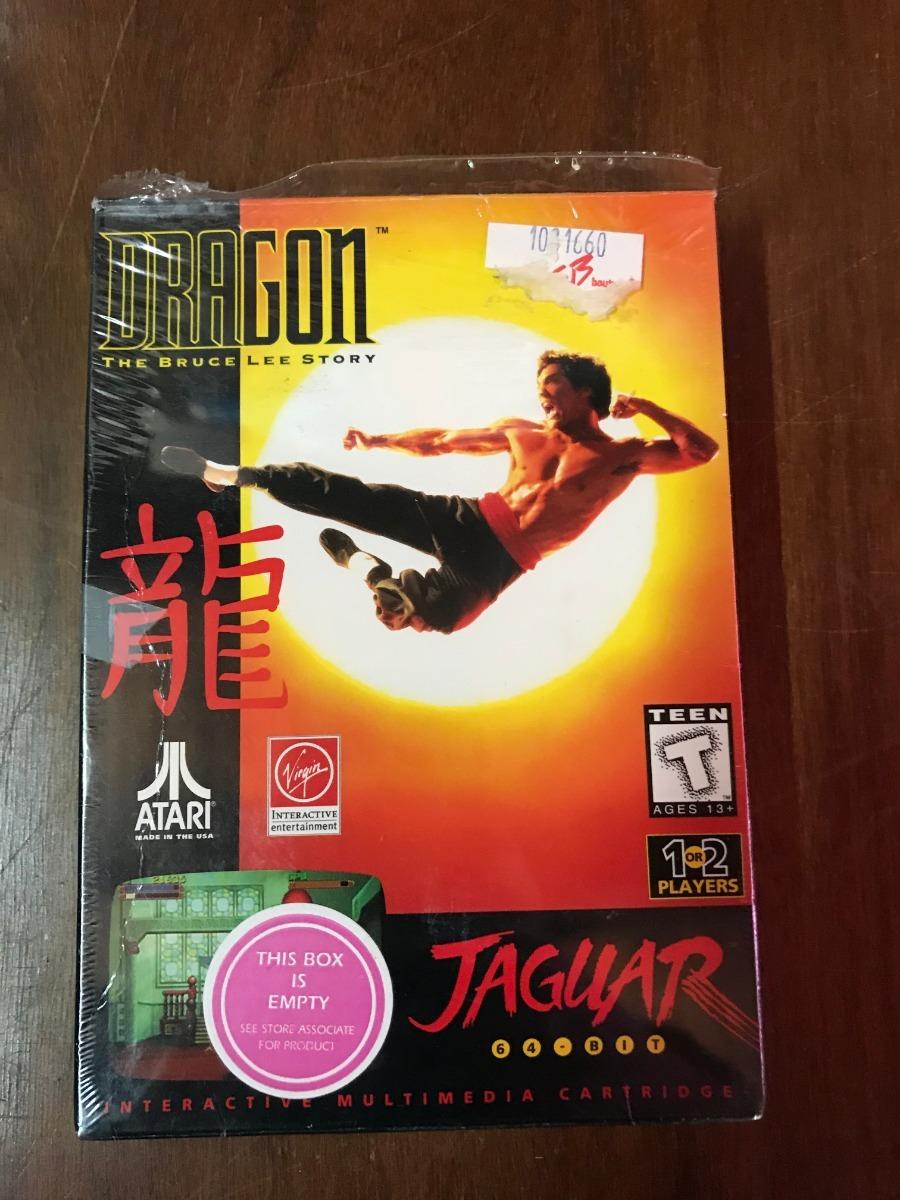 Juego Atari Jaguar Dragon The Bruce Lee Story 1 800 00 En
