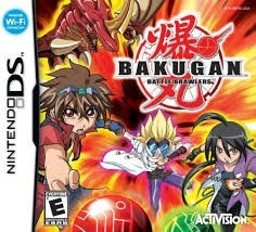juego bakugan battle brawlers original para nintendo ds