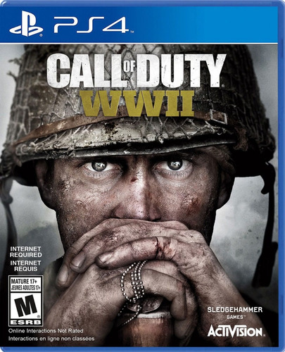 juego call of duty ww2 ps4 original físico sellado