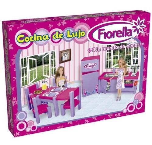 juego comedor + cocina fiorella
