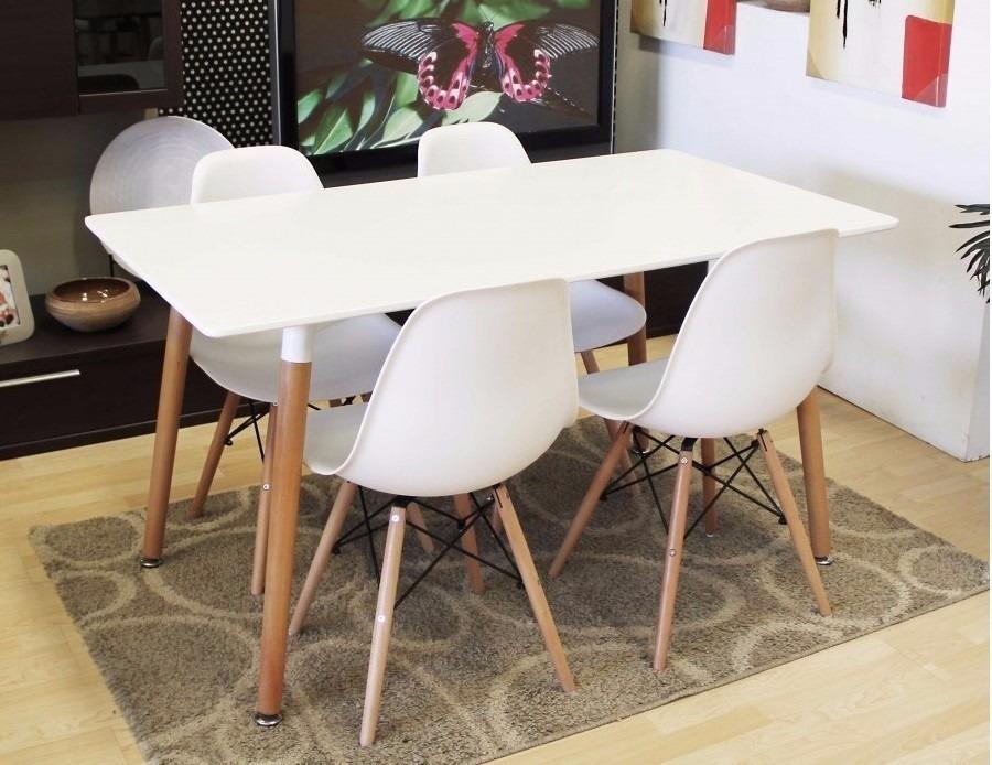Juego comedor eames 2 sillas living mesa estilo nordico - Cuanto cuesta tapizar una butaca ...