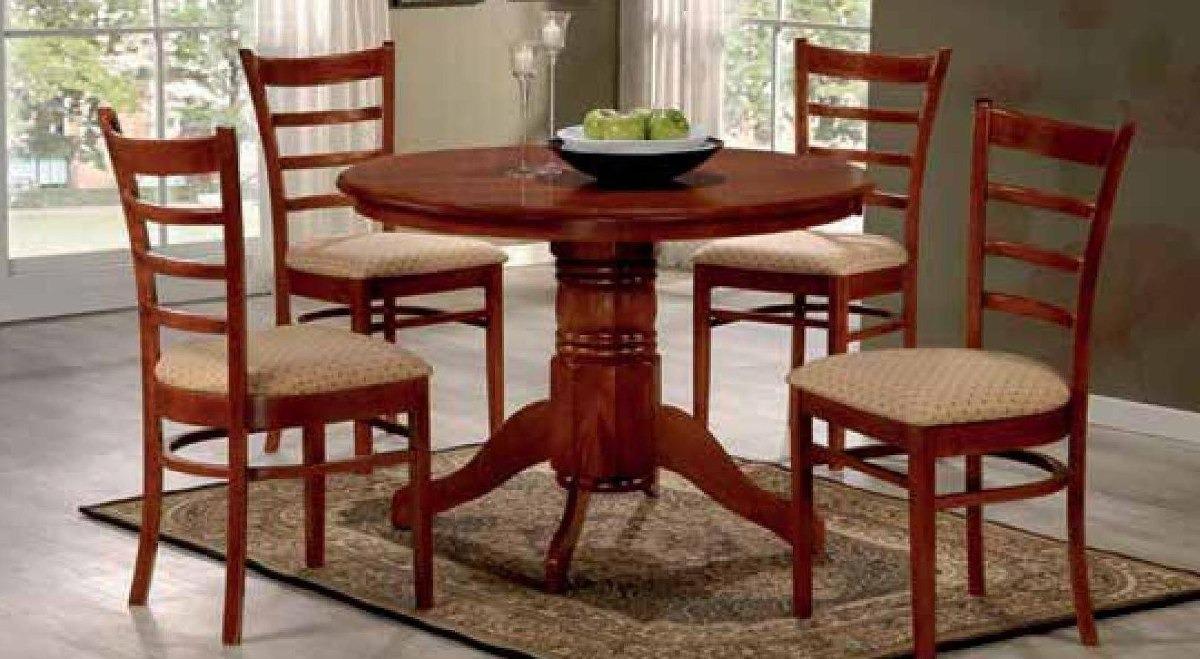 Juego Comedor Madera 4 Sillas Cocina Living Mesa Silla - $ 16.178,91 ...