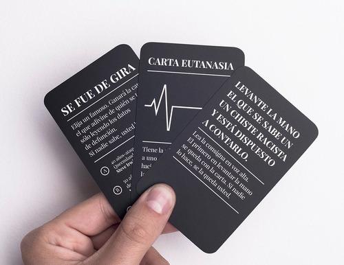 juego con eso no se jode humor negro juego de cartas