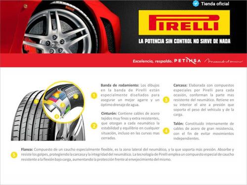 juego de 4 cubiertas pirelli 175/70 tr13 p1 cinturato