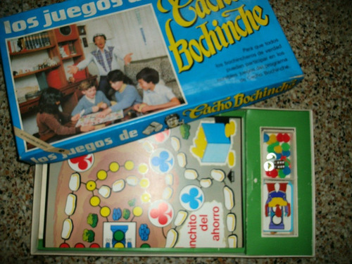 juego de cacho bochinche.coleccionable,juguete.