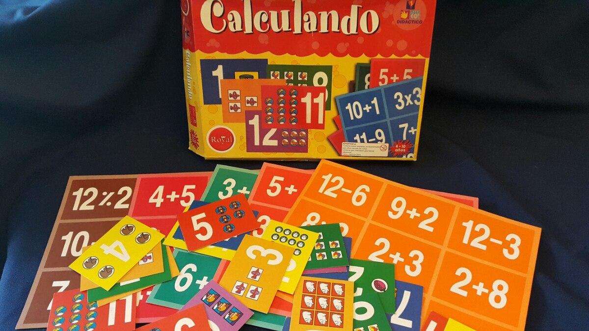 Juego De Calculos Matematicos Para Ninos O Docentes Primaria 526