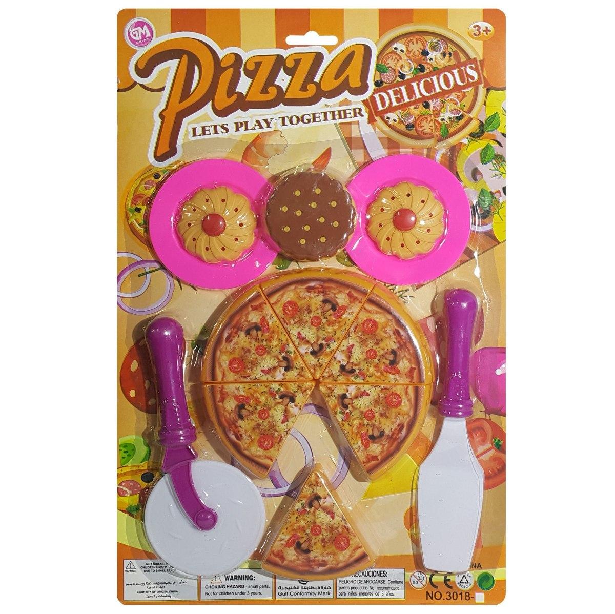 Juego De Cocina Pizza Con Accesorios Juguete El Regalo 104