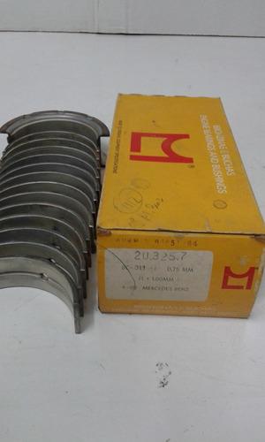 juego de cojinetes bancada mercedes benz 1112-312-321 0,75mm