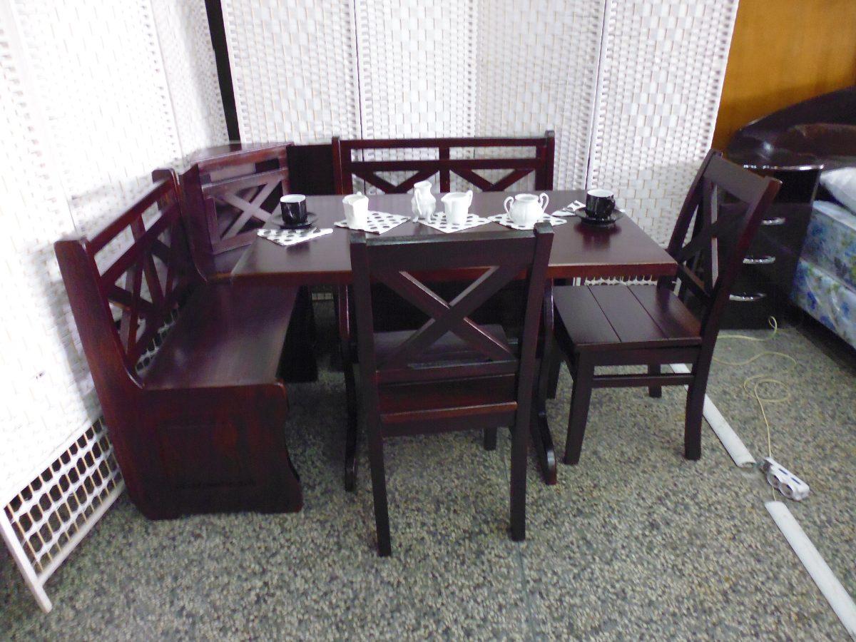 Juego De Comedor Esquinero Con Baul!! - $ 14.900,00 en Mercado Libre