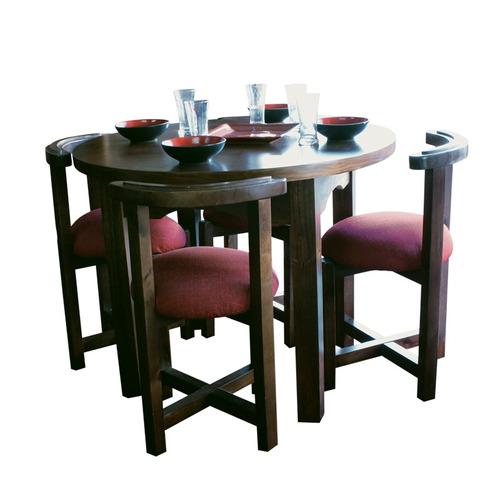 juego de comedor mesa mas 4 sillas gh