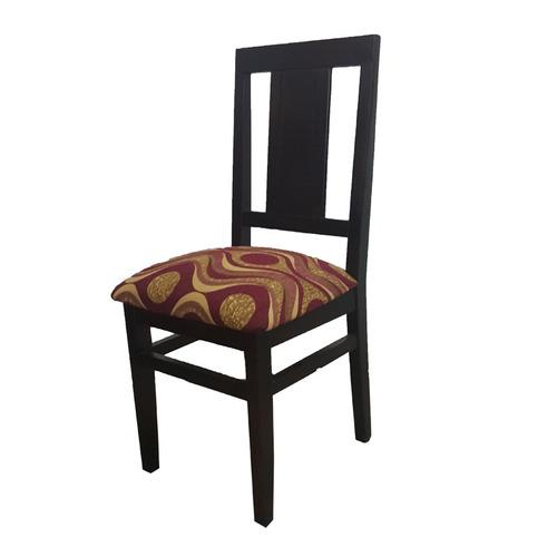 juego de comedor mesa y 6 sillas tapizadas y lustradas gh