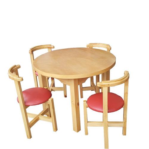 juego de comedor mesa y silla gh mesa red