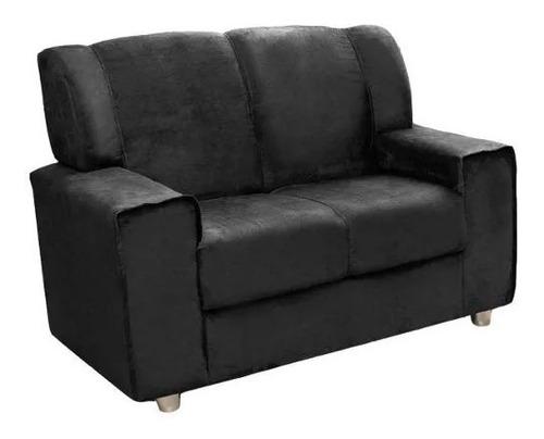 juego de living 3+2 cuerpos sofa pu negro costa rica