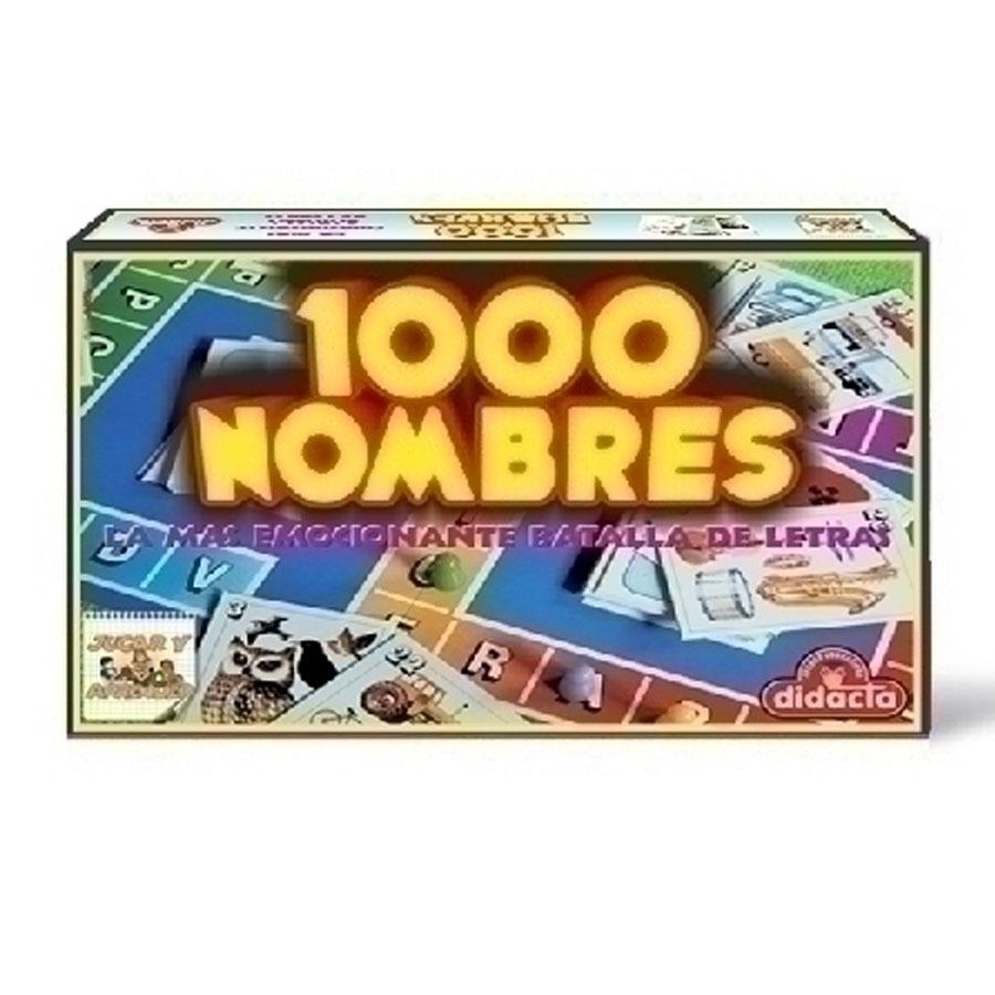 Juego De Mesa 10000 Nombres Didacta Ub 269 10 En Mercado Libre