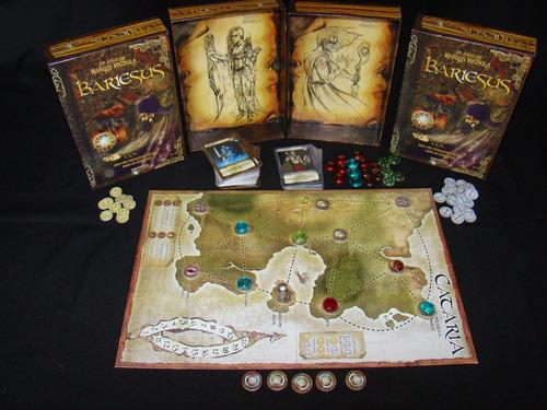 juego de mesa bariesus - eurogame - novedad