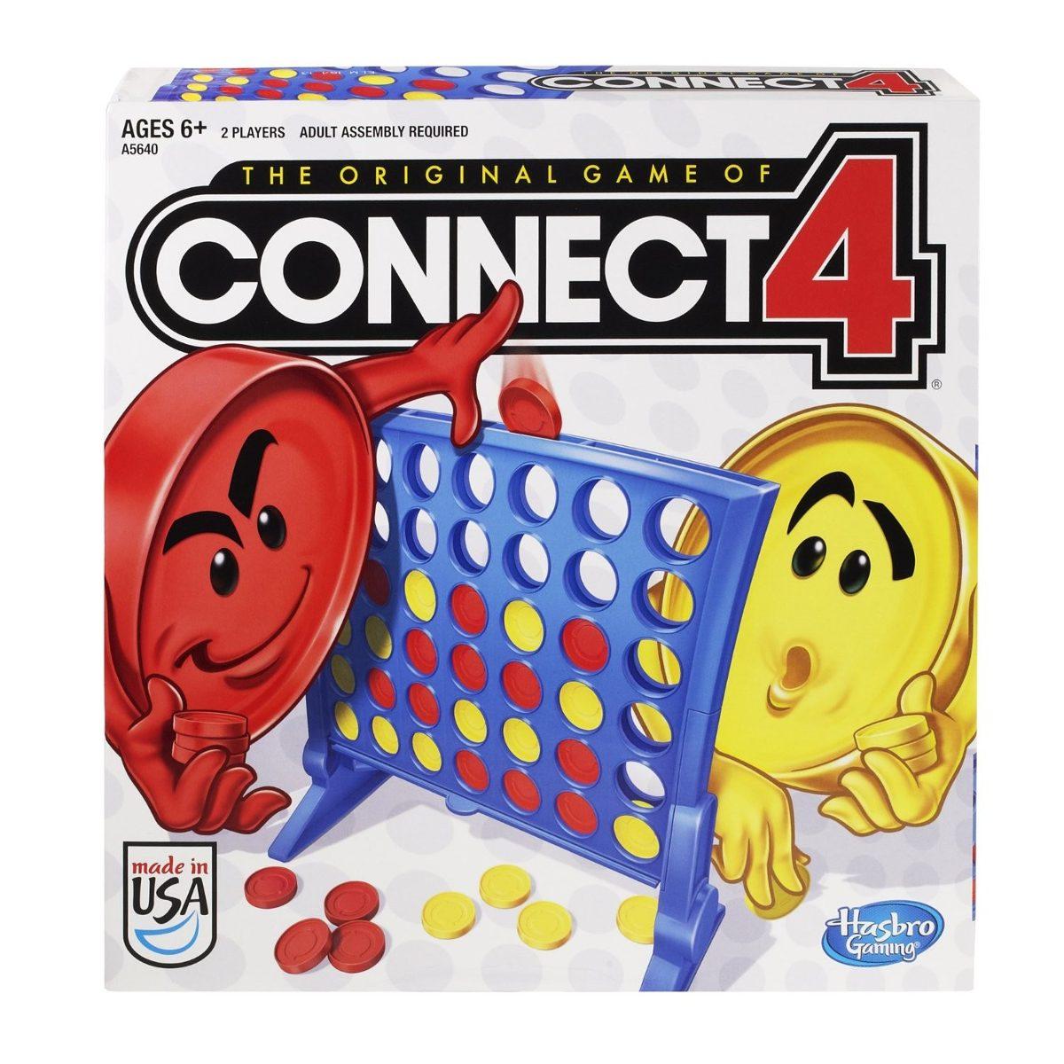 Juego De Mesa Connect 4 Hasbro Original Ninos 690 00 En