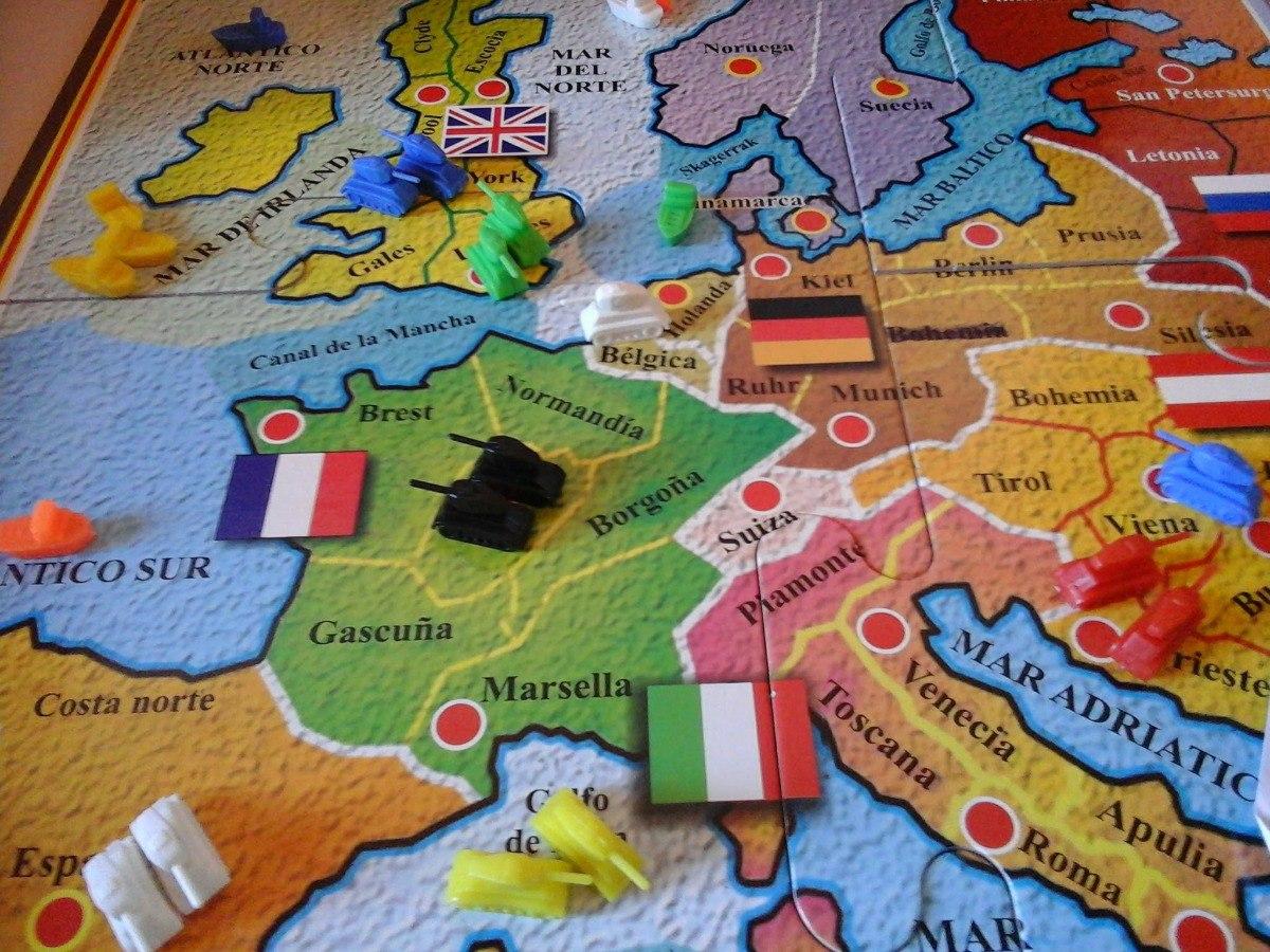 Juego De Mesa De Estrategia Y Guerra 1914 Perfecto Estado 650