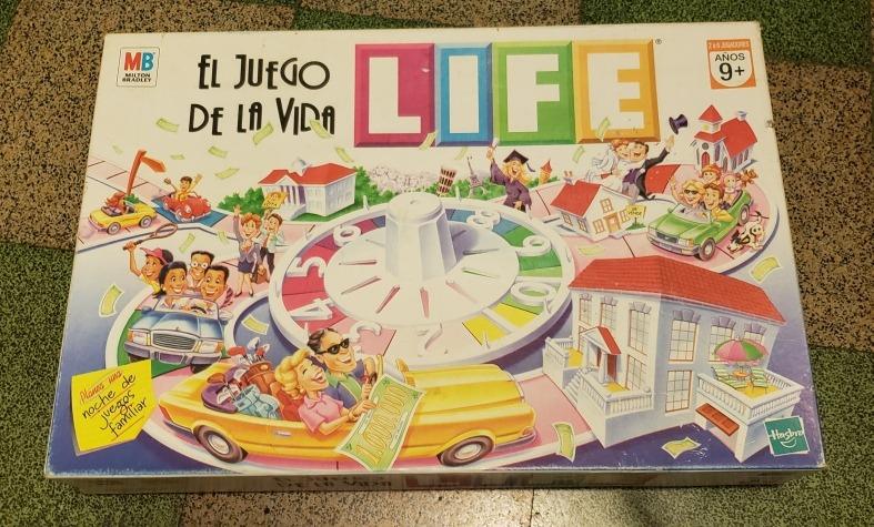 Juego De Mesa Life El Juego De La Vida 700 00 En Mercado Libre