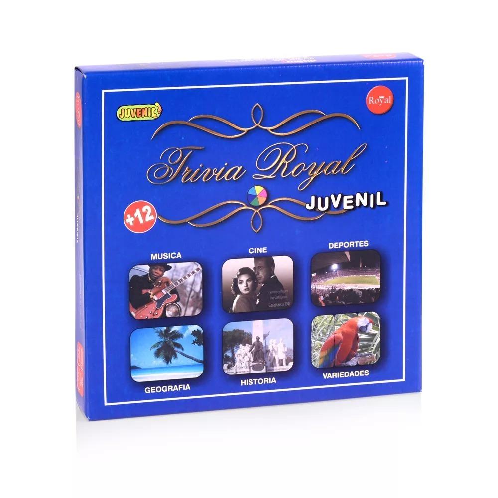 Juego De Mesa Trivia Royal Juvenil 12 550 00 En Mercado Libre