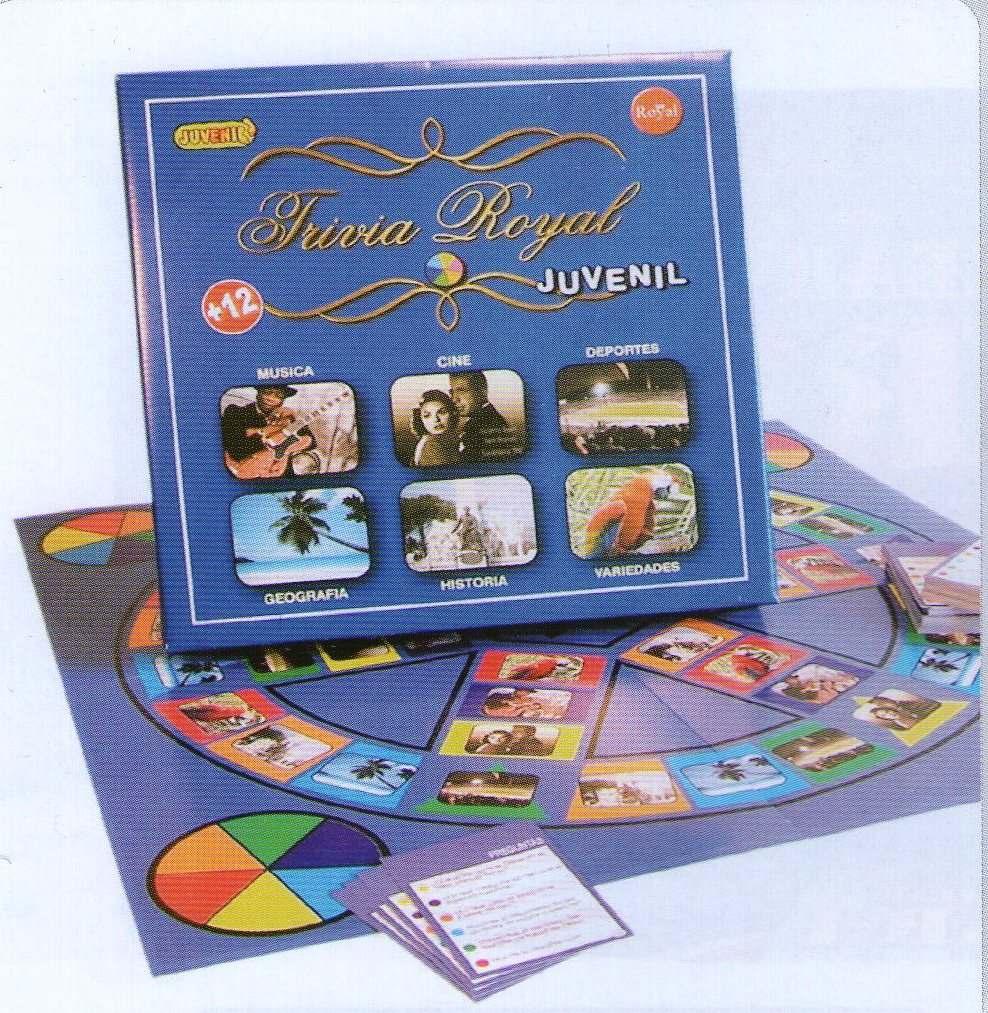 Juego De Mesa Trivia Royal Juvenil 680 00 En Mercado Libre