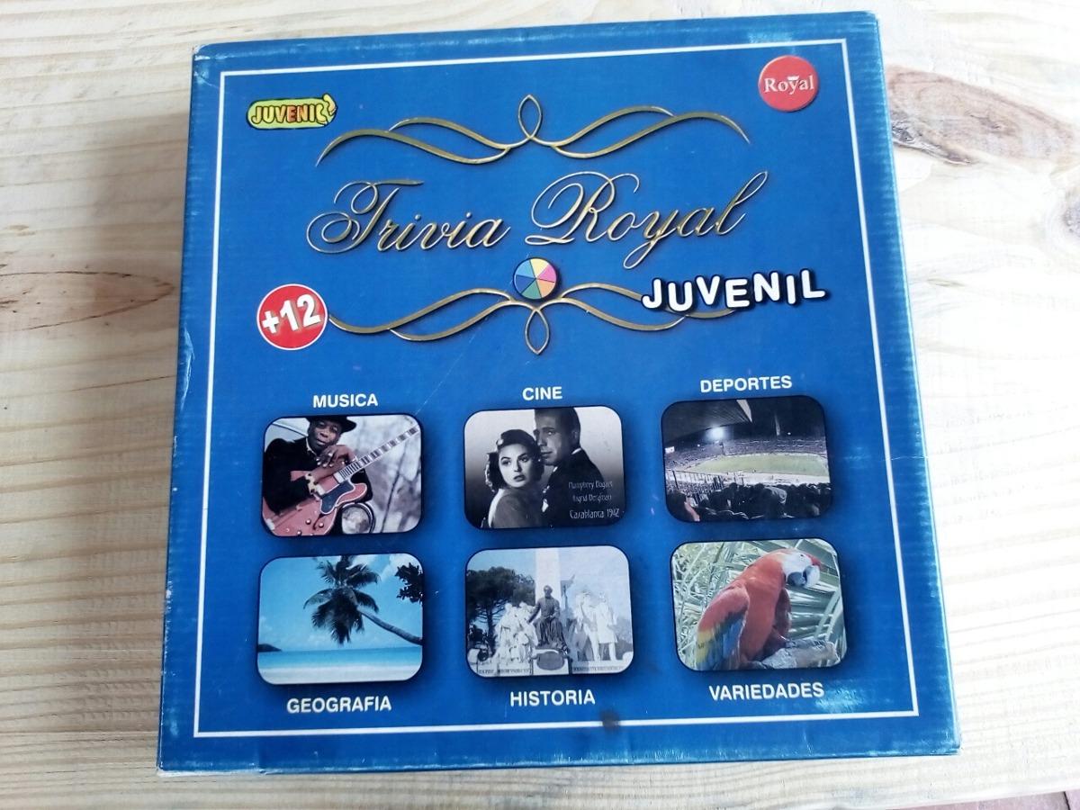 Juego De Mesa Trivia Royal Juvenil 380 00 En Mercado Libre