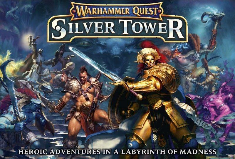 Juego De Mesa Warhammer Quest Silver Tower 2 4 Jugadores 6 481