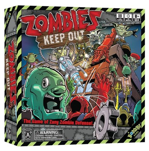 Juego De Mesa Zombies Keep Out 1 A 6 Jugadores 1 520 00 En