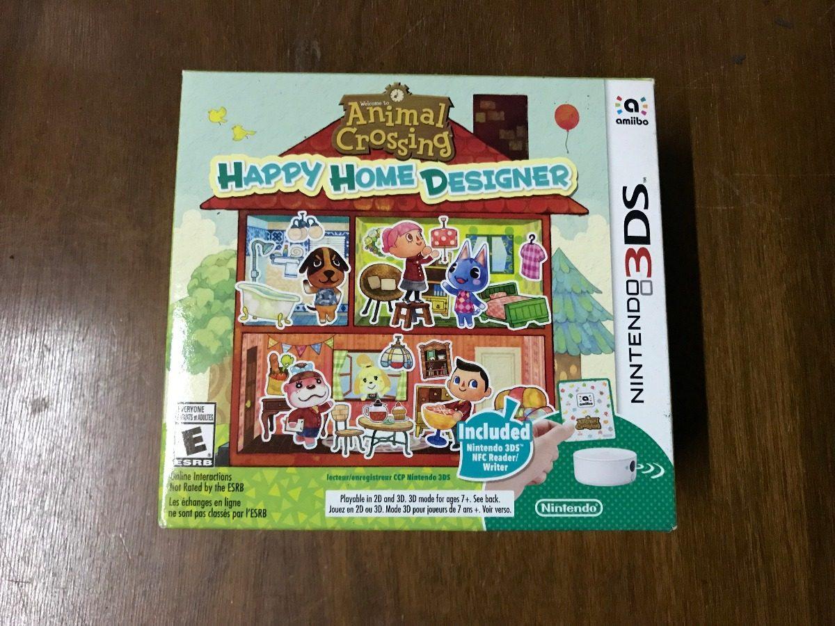 Juego De Nintendo 3ds Animal Crossing Happy Home Designer U S 120