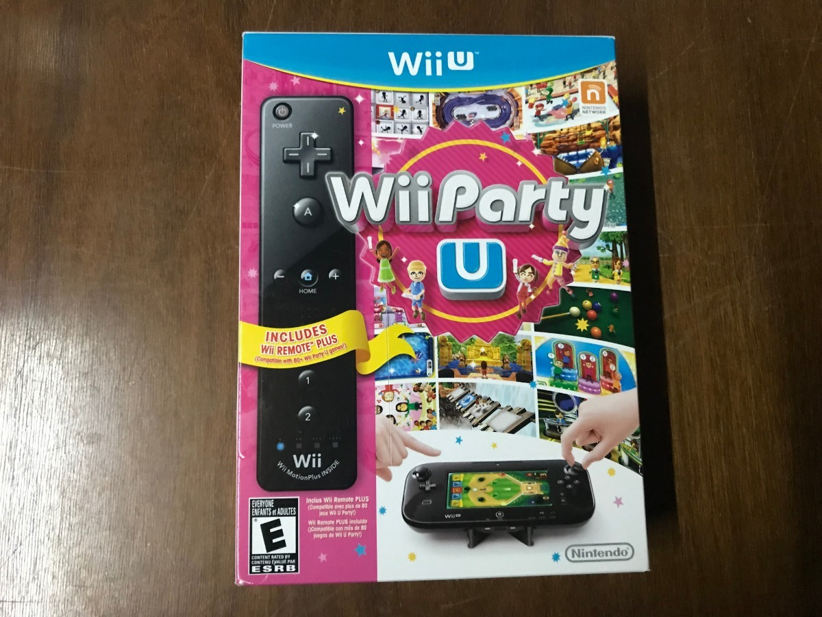 Juego De Nintendo Wii U Wii Party U Con Remote Plus U S 120 00 En