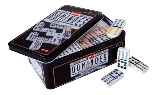 juego dominó de 91 piezas con 12 colores oferta loi