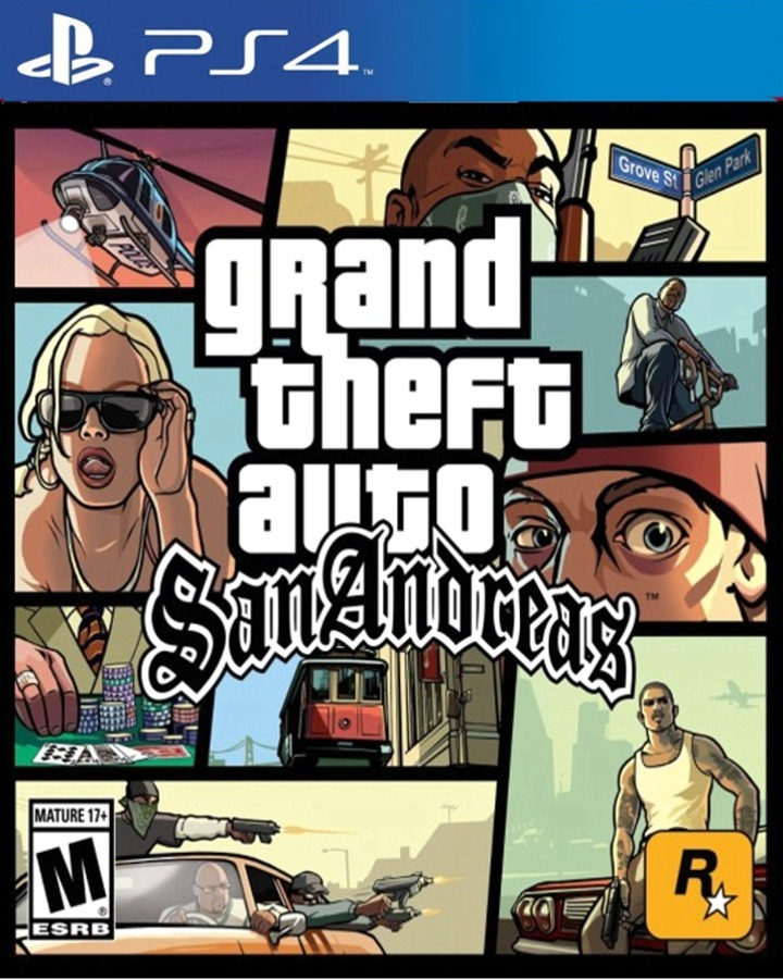 Juego Gta San Andreas Digital Original Ps4 299 00 En Mercado Libre