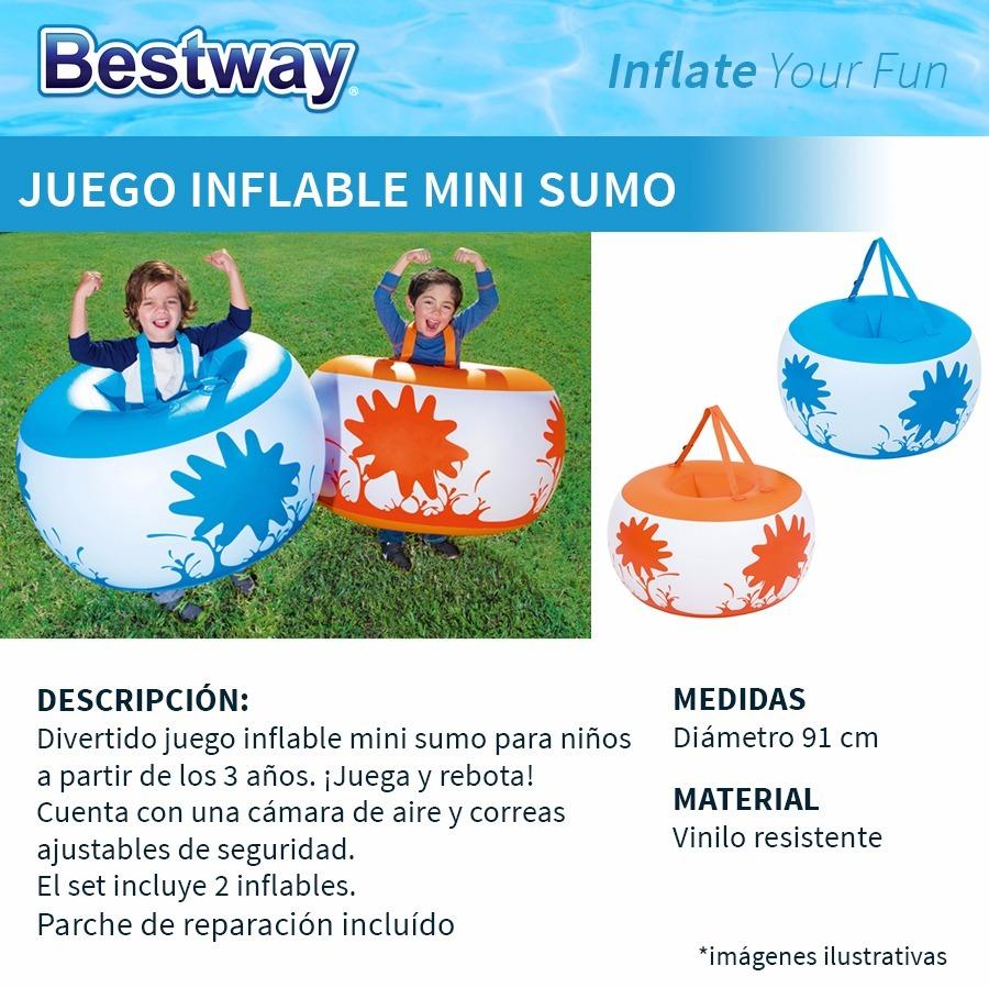 Juego Inflable Mini Sumo Juega Y Rebota Para Ninos Bestway 999