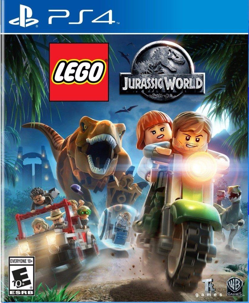 Juego Lego Jurassic World Digital Original Ps4 464 00 En Mercado