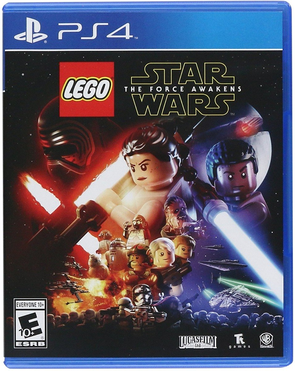 Juego Lego Star Wars The Force Awakens Digital Original Ps4 399