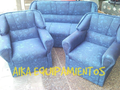 juego living sillones