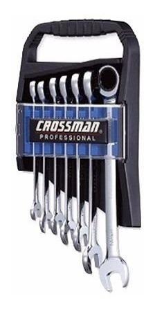 juego llaves combinadas con crique 8 - 19mm crossman 91-091