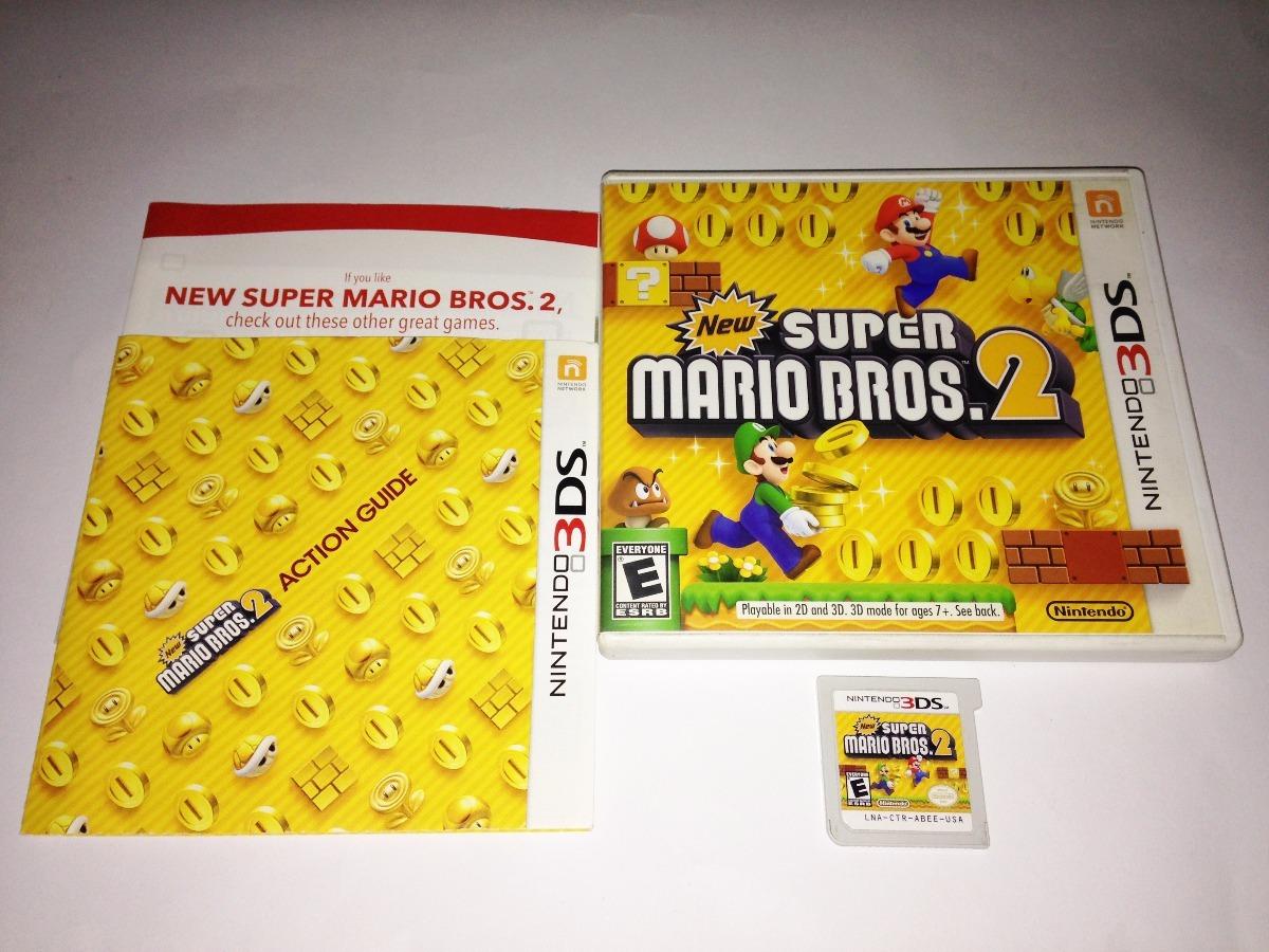 New Super Mario Bros 2 Juego Original Para Nintendo 3ds 1 290