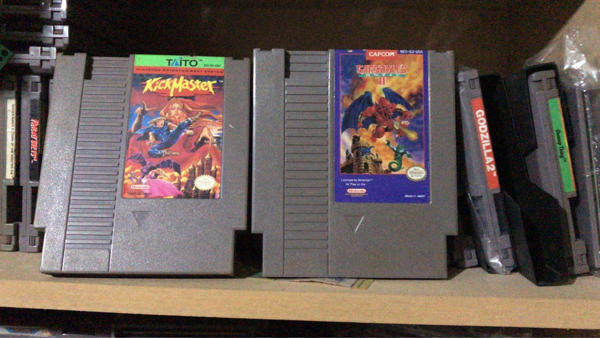 Juego Nintendo Nes Kickmaster Retro Raro Mega Man 3 000 00 En