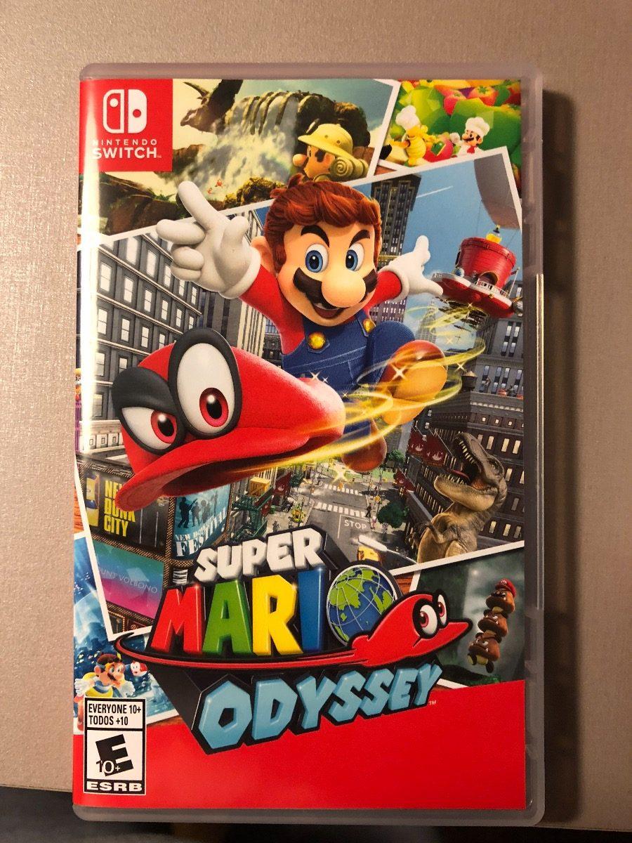 Juego Nintendo Switch Mario Odissey U S 100 00 En Mercado Libre