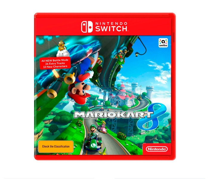 Juego Para Nintendo Switch Mario Kart 8 Netpc U S 119 00 En