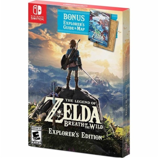 Juego Nintendo Switch Zelda Breath Of The Wild Explorer 3 500