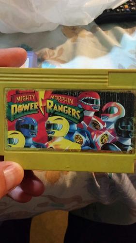 juego para consola family game power rangers