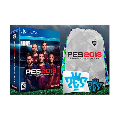 juego pes 2018 legendary edition físico ps4 sellado