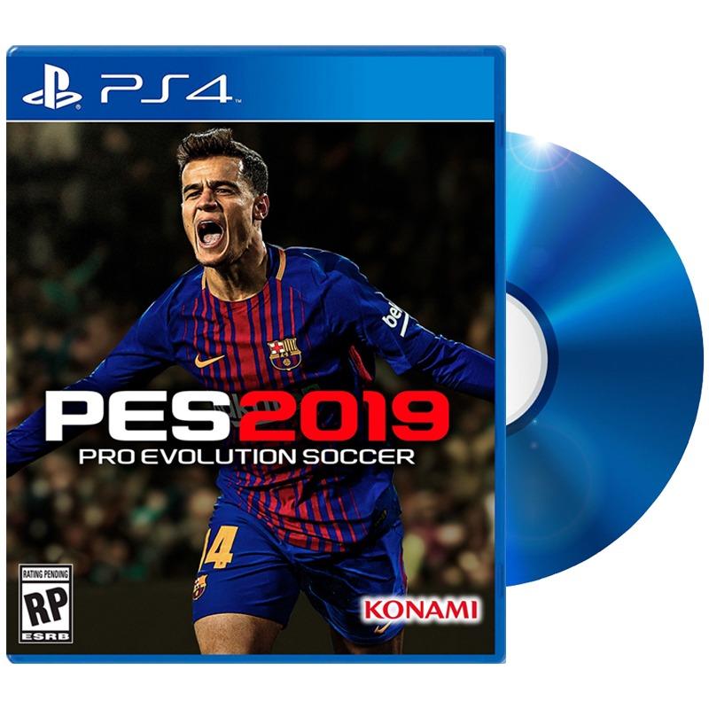 Juego Pes 2019 Para Ps4 Play 4 Sellado Original Fisico Dimm U S 89