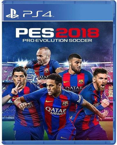 juego play4 pes 2018 digital original ps4 liquidacion