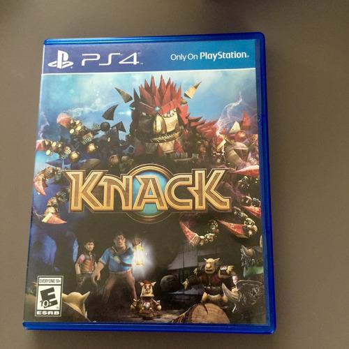 juego ps4 knack - castellano - fisico - cordoba